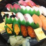 ライドオンEX (銀の皿 )優待5千円で食べられるお寿司の内容