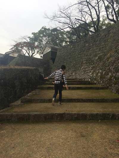熊本城開かずの門